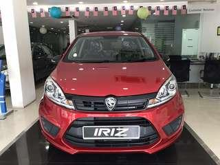 Zero DP! Proton Iriz 1.3 | READY STOCK!