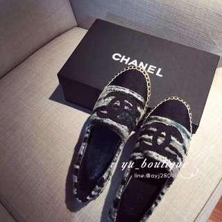 Chanel 草編鞋