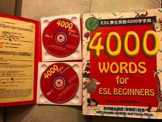 ESL學生英語4000字字典  4000 WORDS for ESL BEGINNERS