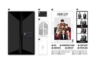 [WTS] Unsealed Full Set BTS 4th Army Kit