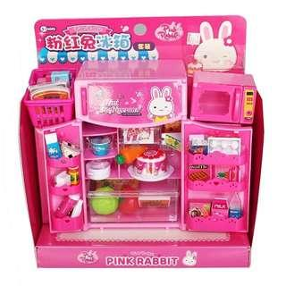 Cute Bunny Fridge Play Set
