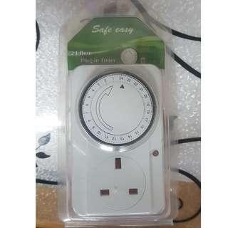 英規計時器 13A英標定時插座迴圈電子定時開關香港澳門英國新加坡