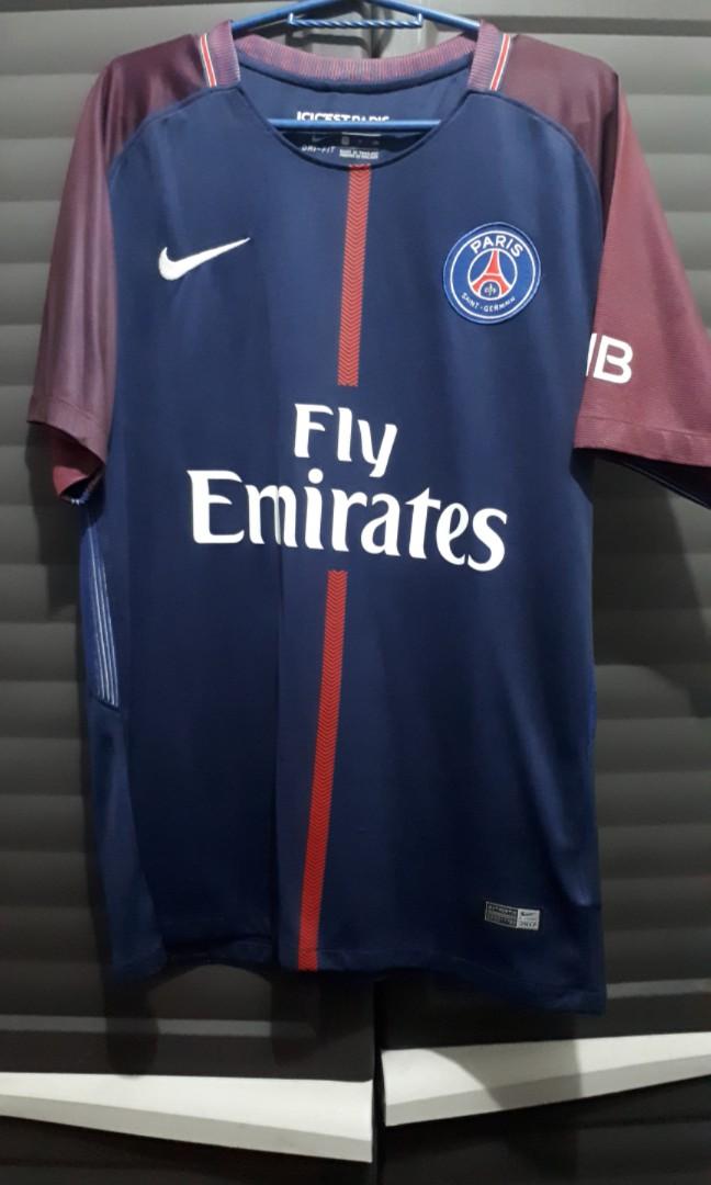 2017-2018 Paris Saint-Germain (PSG) Home Kit eabe9de23