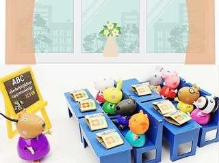 Peppa classroom Play Set
