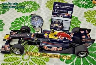 F1 Limited Edition Casio RedBull Infinity Red Bull Racing