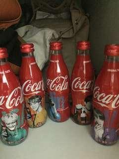 BTS Coke Special Edition (glass bottles)
