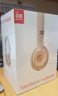 Brand New Beats Solo3 Wireless (Matt Gold)