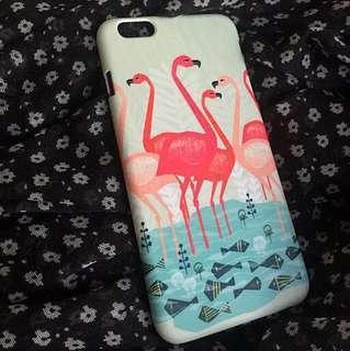 🚚 Flamingo in Pond Phone Case
