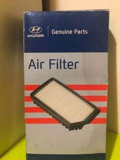 Hyundai accent air filter
