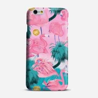 🚚 Tropical Flamingo Phone Case