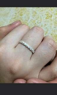 Eternity Silver Ring for Girls