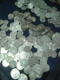 Uang koin 100tipis tahun 1978