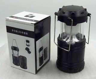 🚚 全新盒裝 露營燈 多功能手提LED燈 伸縮式 使用碳鋅電池3顆