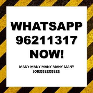 Whatsapp 96211317   38 X Full Time Cashiers needed   $1400 - $2000   Minimum Exp Required   MANY Locations