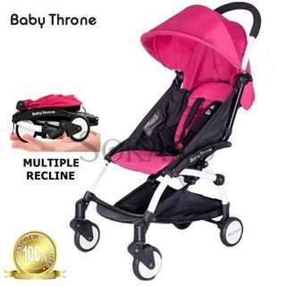 Used Baby Throne Stroller with Carrier Carseat