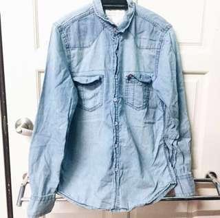 [WORN ONCE] Denim Shirt