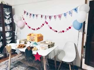 Birthday party set up(In-house)