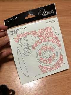 Fujifilm instax mini 7s sticker