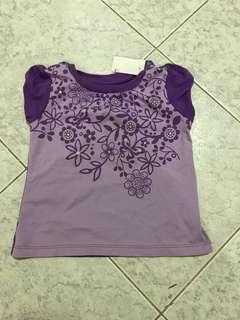 Bb purple shirt
