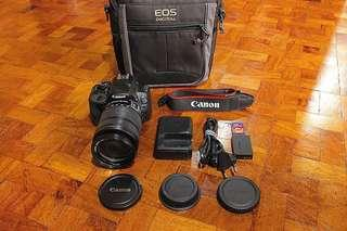 Canon EOS 100D | 18-135mm STM | 18mp with HD video