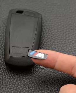 🚚 BMW M power 標籤貼 標誌貼 遙控貼 5系列 3系列 7系列 E90 E60 E92 335 740