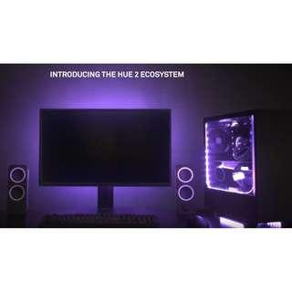 NZXT HUE 2 RGB Lighting Kit / NZXT HUE 2 RGB Cable Comb / NZXT HUE 2 Underglow / NZXT HUE 2 Ambient