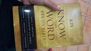 KJV know the word Bible