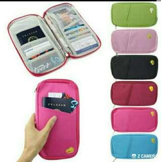 TRAVEL PASSPORT/CREDIT CARD/CASH HOLDER-WALLET