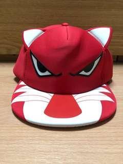 Red tiger cap
