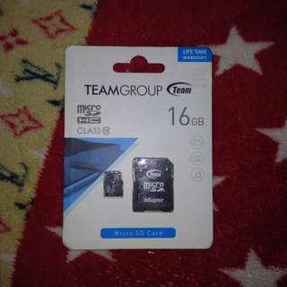 SD CARD 16GB (SEALED)