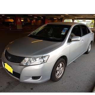TOYOTA ALLION 1.5L - LUXURIOUS! ECONOMICAL. VERY RARE TO COME BY! FAMOUS FOR LOW FUEL CONSUMPTION! REAR RECLINING SEATS!
