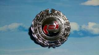 1982年九廣鐵路公司(KCRC) 帽徽