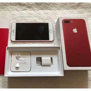 iPhone7 PLUS 256gb Red Edition