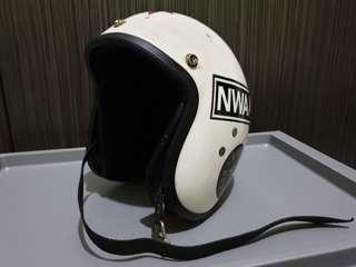 White Everoak Helmet
