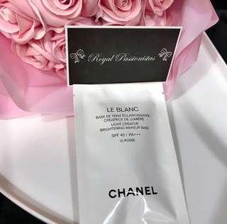 BN Chanel Le Blanc Brightening Makeup Base. 2.5ml.