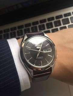 Seiko 5 SNKL23 Automatic Stainless Steel Watch