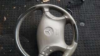 W203 steering wheel