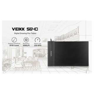 VEIKK S640 4 x 6 inch Ultrathin Digital Drawing Pen Tablet