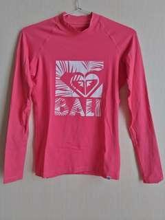 Rash Vest Roxy Pink Fuschia - BALI #1010