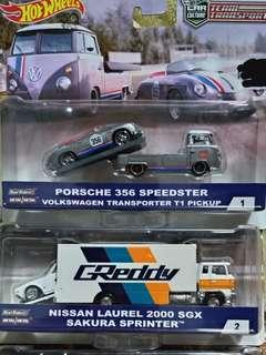 Hotwheels Team Transport Set of 2