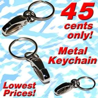 Metal Keychains with Carabiner clip and Key ring *2019 Clearance Sale! Lowest Discount Prices!*
