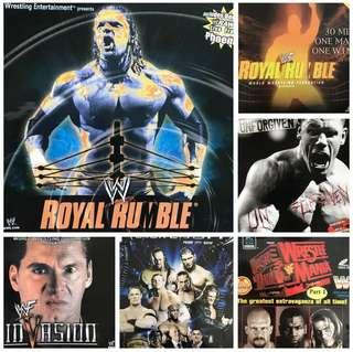 WWE VCD Sets