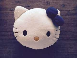 Reversible Blue Hello Kitty Cute Character Cushion