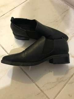 Forever 21 ankle boots black