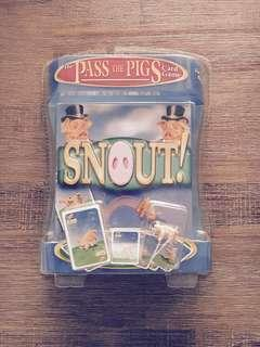 Pass the Pigs Travel Card Game Snout