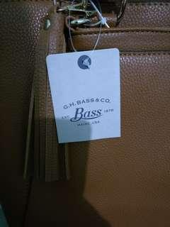 Authentic G. H. Bass Leather Bag