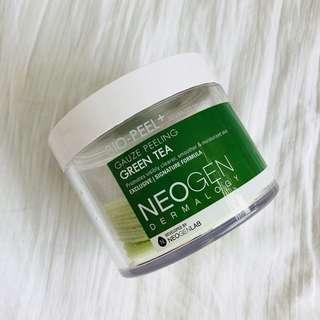 Neogen gauze peeling green tea