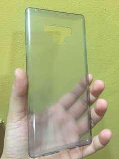Samsung Note 9 transparent silicon case