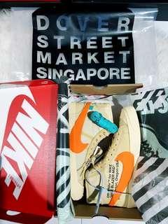 Off White Nike Blazer Total Orange Halloween