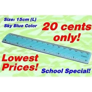 Ruler (Translucent Blue)*2019 Year Special Offer, Super Cheap Prices less than 50 cents now!*